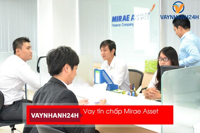 Vay tín chấp tiêu dùng đơn gỉản chỉ có tại Mirae Asset