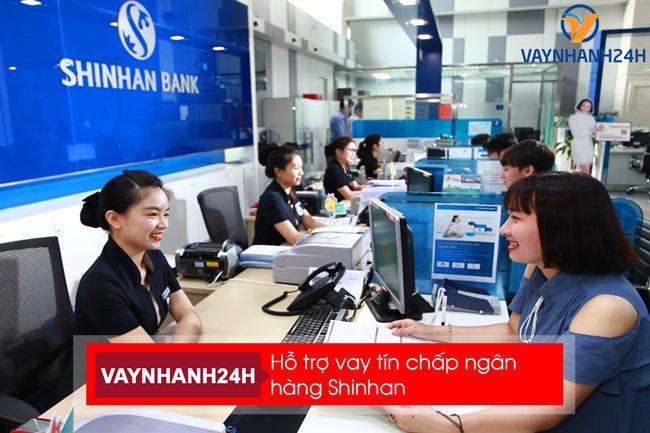 Tìm hiểu sản phẩm vay tín chấp tiêu dùng Shinhan Bank