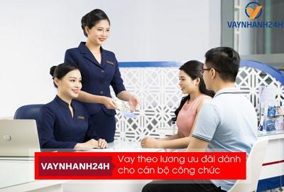 thủ tục vay vốn ngân hàng cho cán bộ công nhân viên chức